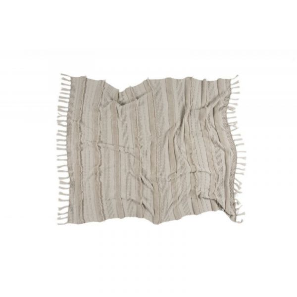Knitted blanket Air Dune White