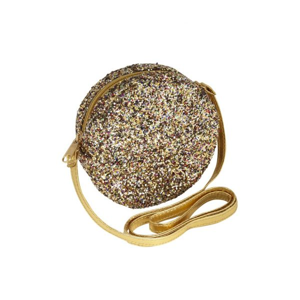 Lula Glitter Bag Gold