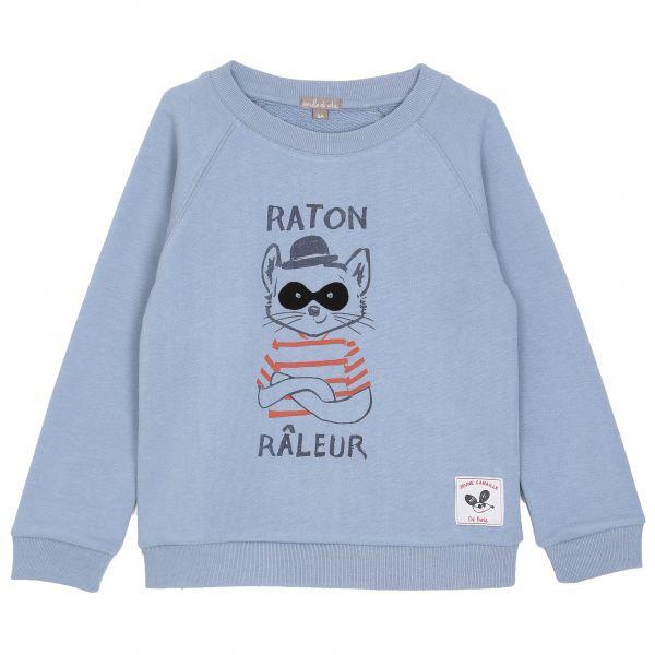Sweatshirt / Bleuet Raton