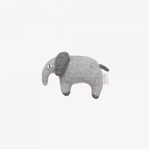 Elephant Soft Toy / Grey