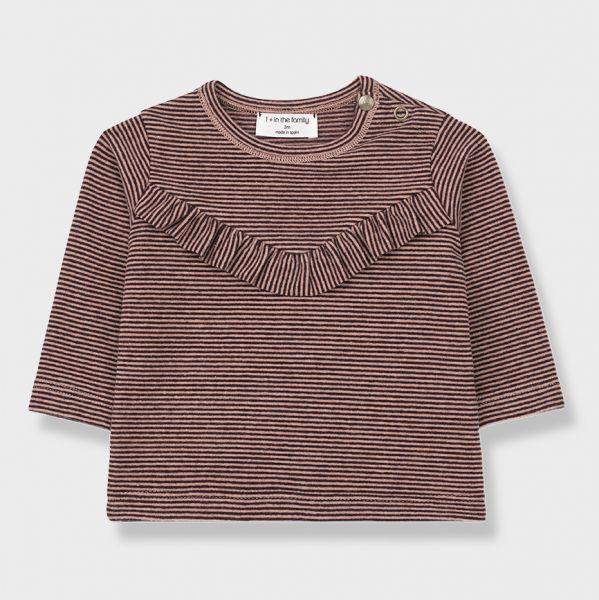 Mechelen Girly T-Shirt / Rose - Burgundy
