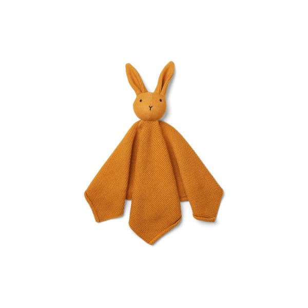 Milo Knit Cuddle Cloth / Rabbit Mustard