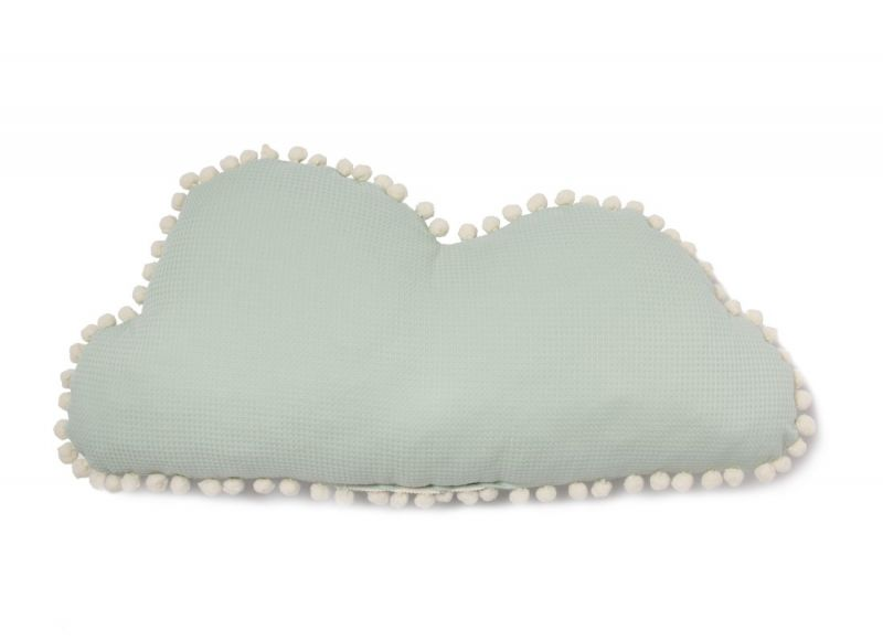 Marshmallow Cloud Cushion / Aqua