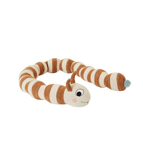 Leo Larva Figure / Off-white - Caramel