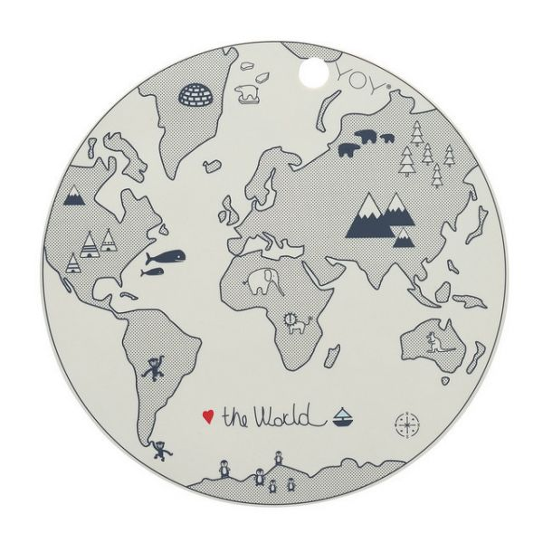 Placemat The World