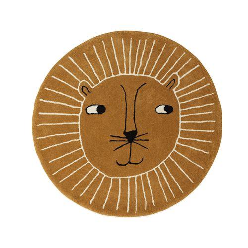 Lion Rug / Caramel