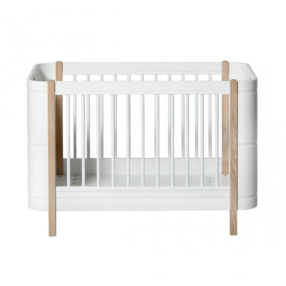 Wood Mini+ Cot / Bed (0 - 9 years) / Oak