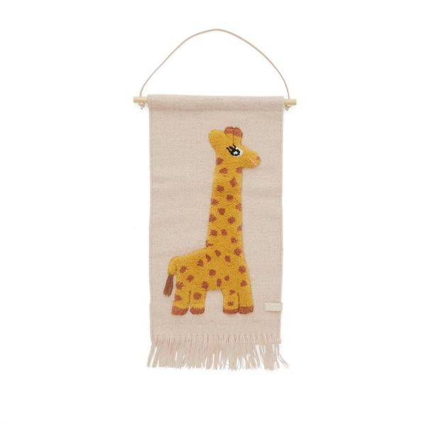 Giraffe Wallhanger / Rose