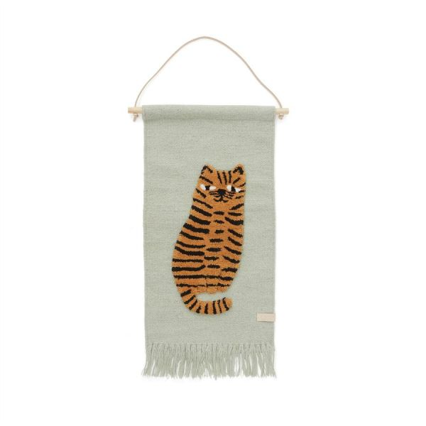 Tiger Wallhanger / Green