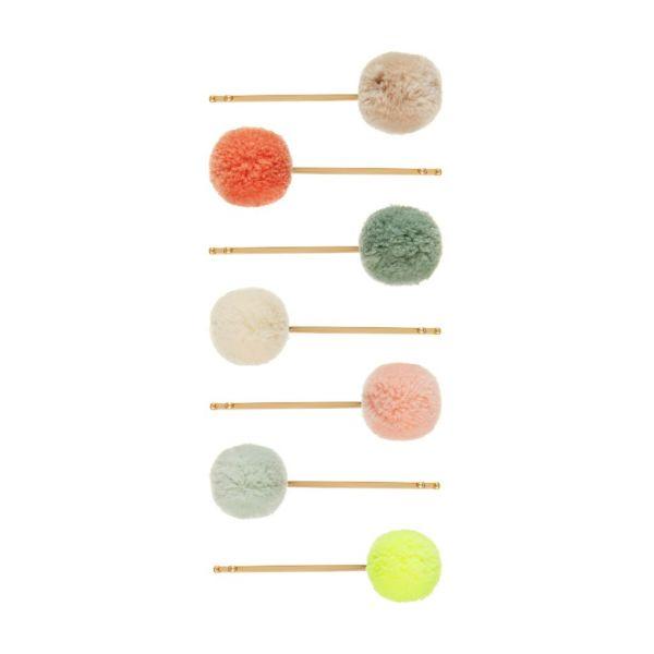 Pom Pom Grips / Pastel - Fluo
