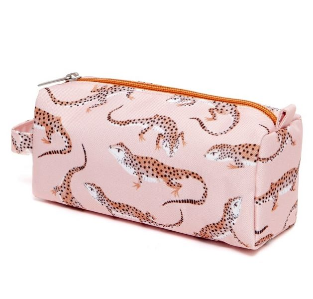 Pencil case leopard gecko