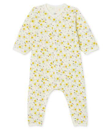 Pyjama met bloemetjesprint