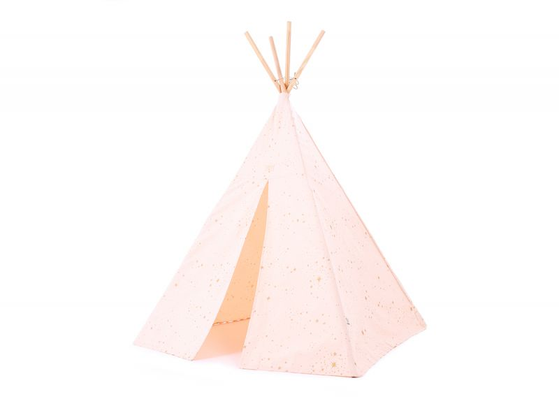 Phoenix Tipi / Gold Stella - Dream Pink