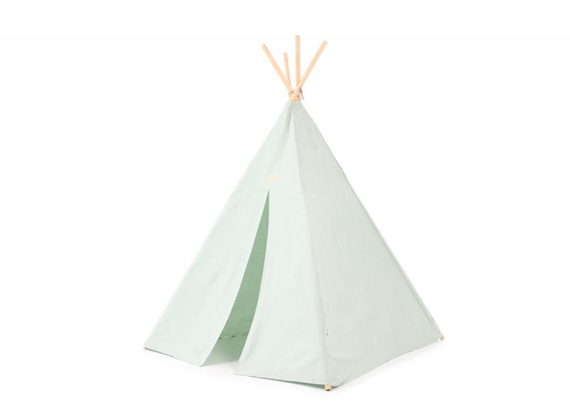 Phoenix Tipi / White Bubble - Aqua