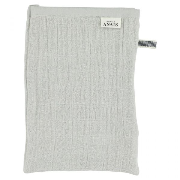Muslin Washcloth (2pcs) / Bliss Grey