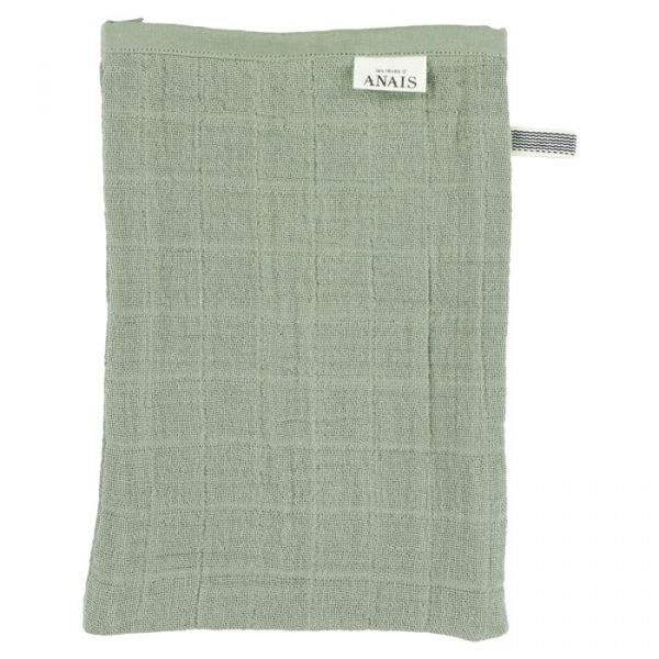 Muslin Washcloth (2pcs) / Bliss Olive