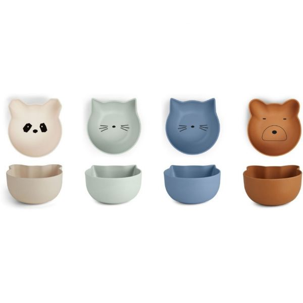 Rex Snack Bowls / Blue Mix