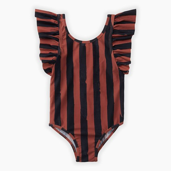 Swimsuit Painted Stripe / Mango