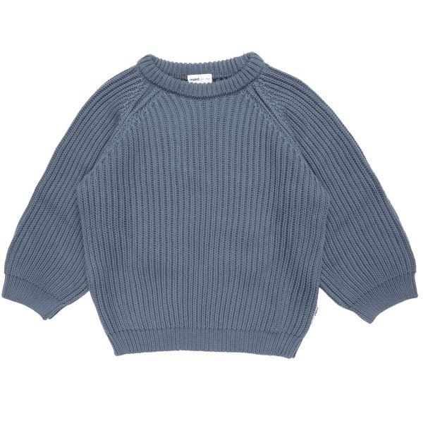 Petrol Parrot Knit Wear