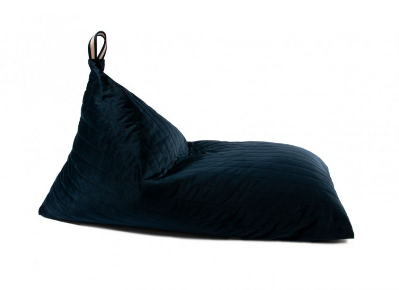 Beanbag Velvet / Night Blue