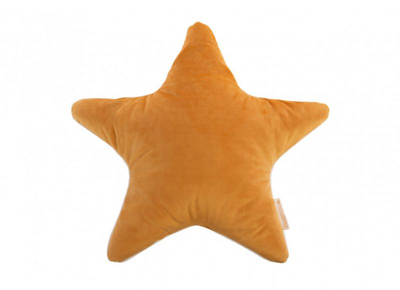 Aristote Star Cushion Velvet / Farniente Yellow