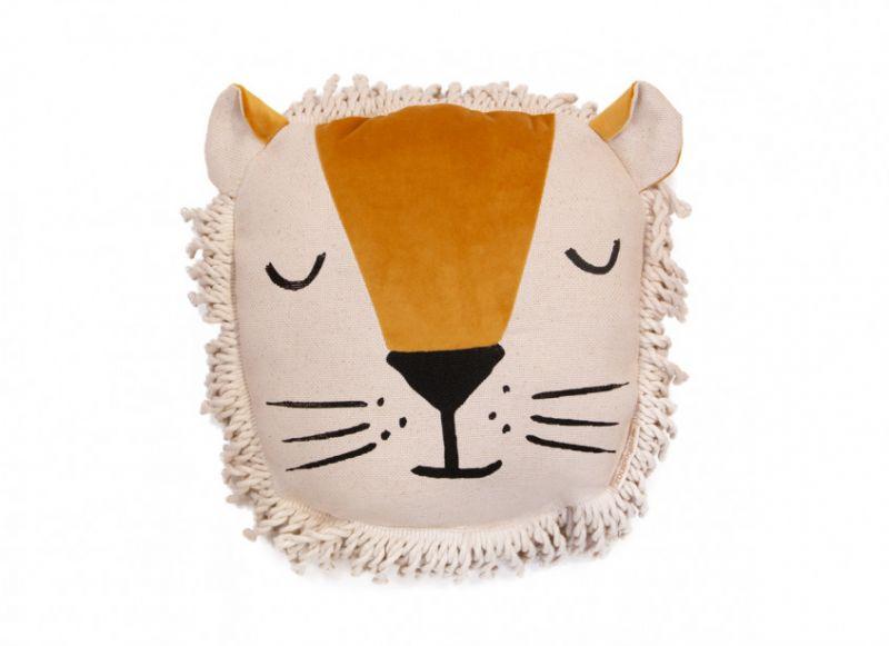 Lion Cushion / Farniente Yellow