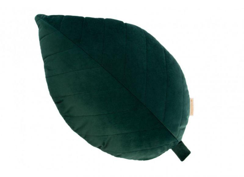 Palma Velvet Cushion / Jungle Green