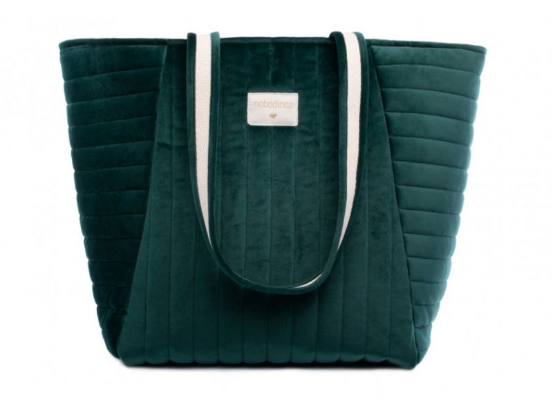 Maternity Bag Velvet / Jungle Green