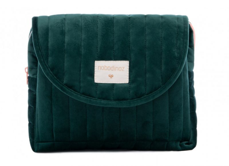 Maternity Case Velvet / Jungle Green
