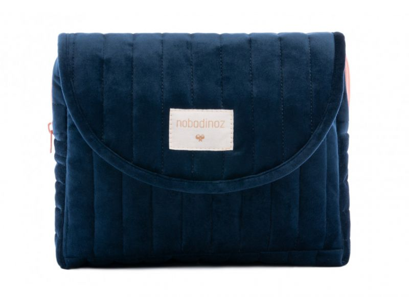 Maternity Case Velvet / Night Blue