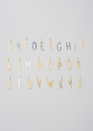 Archetype letters Gold Small A-Z