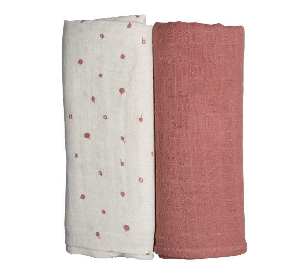 Swaddle 2-pack / Wild Berry