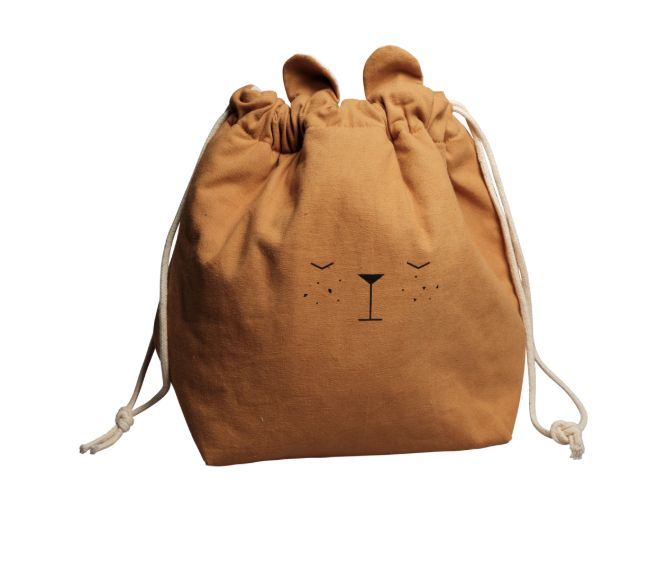 Storage Bag Small / Bear Ochre