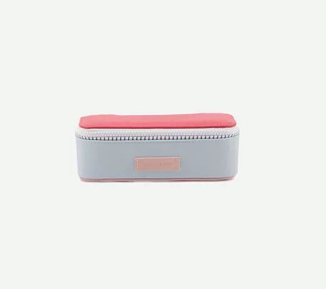 Pencil Case Deluxe / Blue - Red - Pink