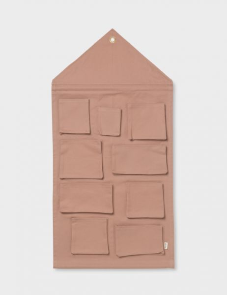 House Wall Storage / Dusty Rose