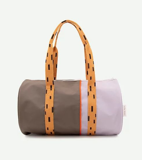 Duffle Vertical Sprinkles / Moss - Lavender - Apricot - Royal Orange