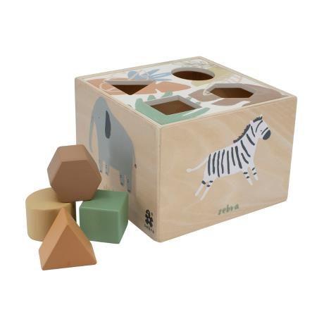 Wooden Shape Sorter / Wildlife