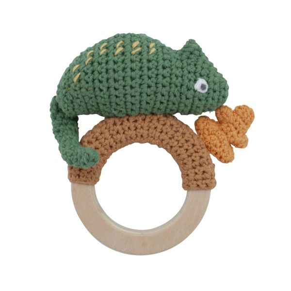 Crocher Rattle / Carley on ring