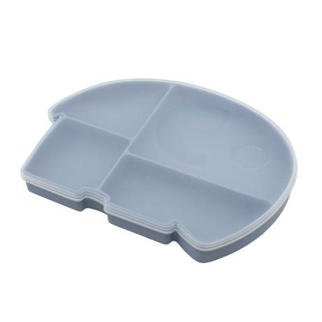 Silicone Plate With Lid / Fanto The Elephant / Powder