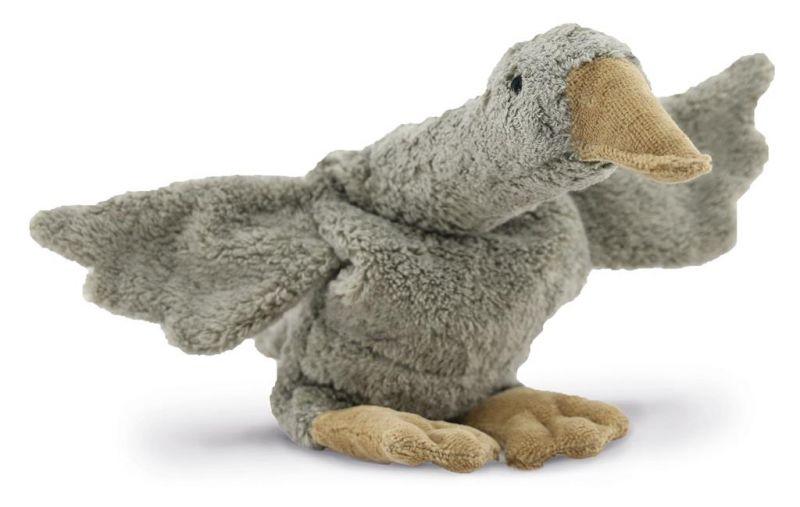 Cuddly animal Goose Small / Grey (warmtekussen)