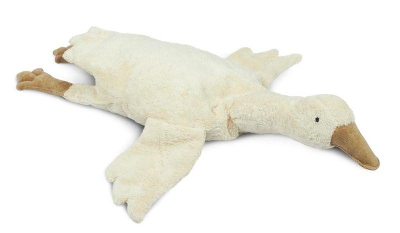 Cuddly animal Goose Large / White (warmtekussen)