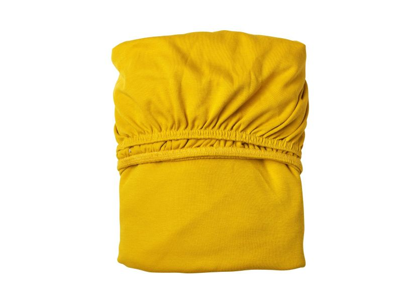 Sheet for baby cot (2 pcs) / Spicy yellow