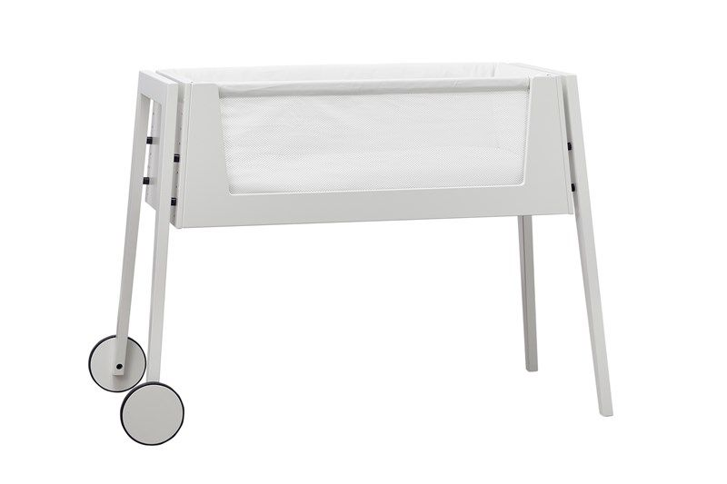 Side by side co sleeper wieg / White