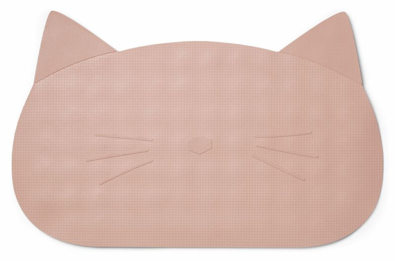Storm bathmat / Cat rose