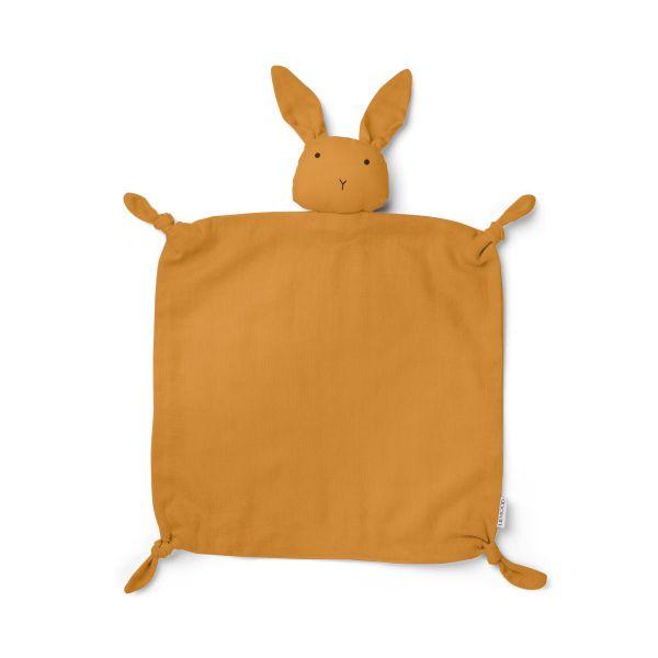 Agnete Cuddle Teddy / Rabbit Mustard