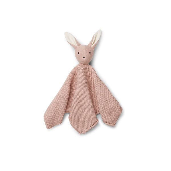 Milo Knit cuddle cloth / Rabbit rose