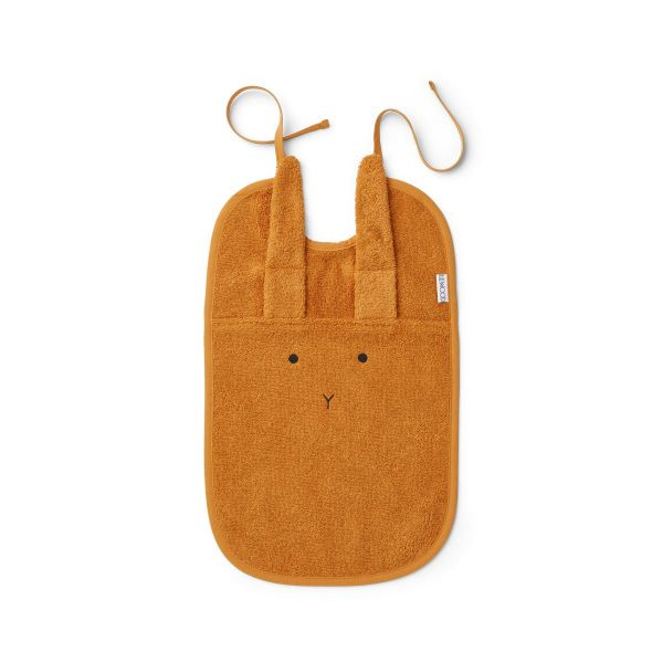 Theo Terry Bib Rabbit / Mustard