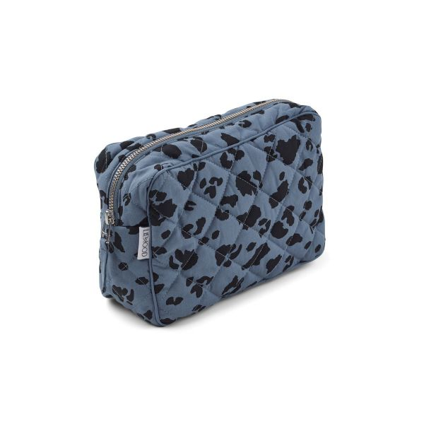 Claudia Toiletry Bag / Leo Blue Wave