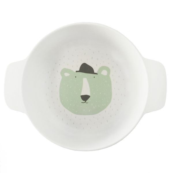 Bowl with handles / Mr. Polar Bear