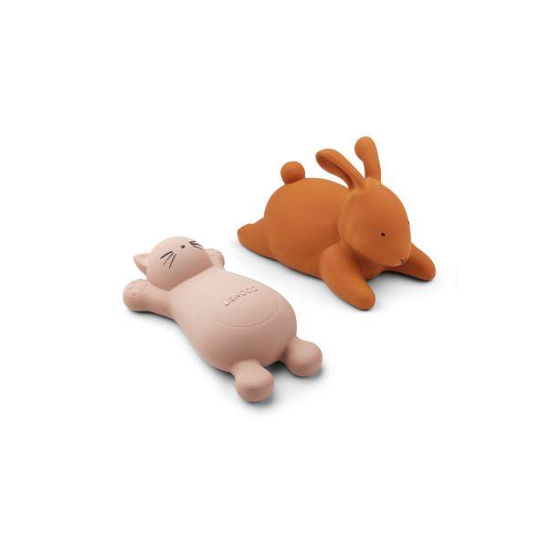Vikky Bath Toys 2 Pack / Cat Rose